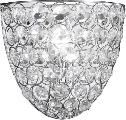 Deckenleuchte Energiesparlampe E14 40 W WOFI Holly 4568.01.01.0220 Chrom