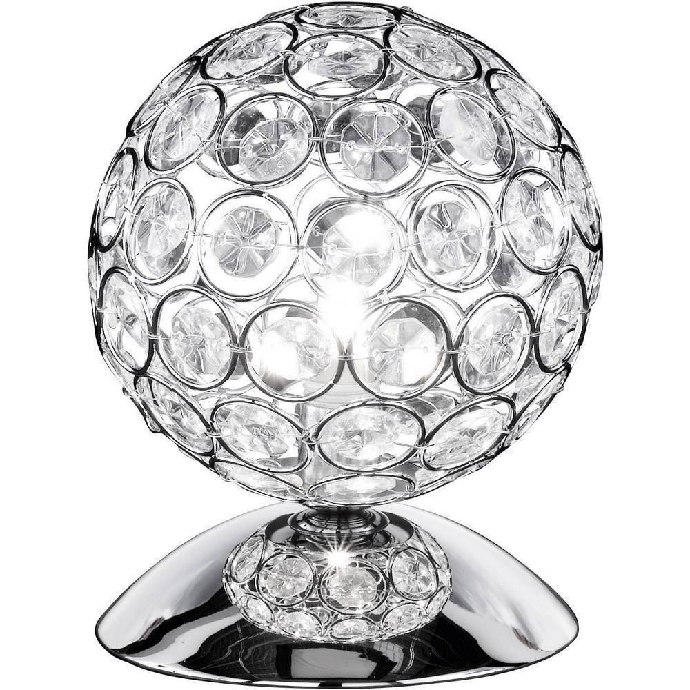 lampe de table wofi holly 33 w argent sur le site internet conrad 1091827. Black Bedroom Furniture Sets. Home Design Ideas