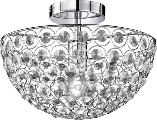 Deckenleuchte Energiesparlampe E27 60 W WOFI Holly 9568.01.01.0350 Chrom