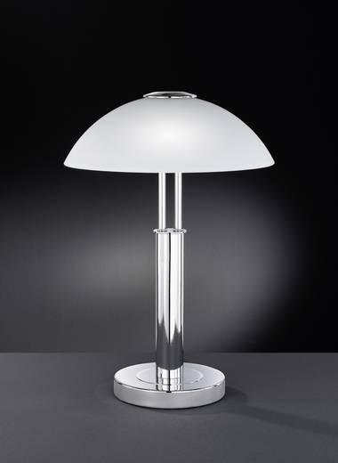Tischlampe Halogen, Energiesparlampe E14 80 W WOFI Prescot 8747.02.01.0000 Chrom
