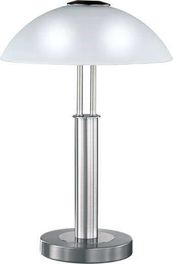 Tischlampe Halogen, Energiesparlampe E14 80 W WOFI Prescot 8747.02.64.0000 Nickel (matt)