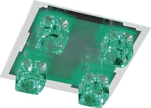 Deckenleuchte Halogen, LED G4, LED fest eingebaut 84 W ACTION Vision 992905060000 Chrom