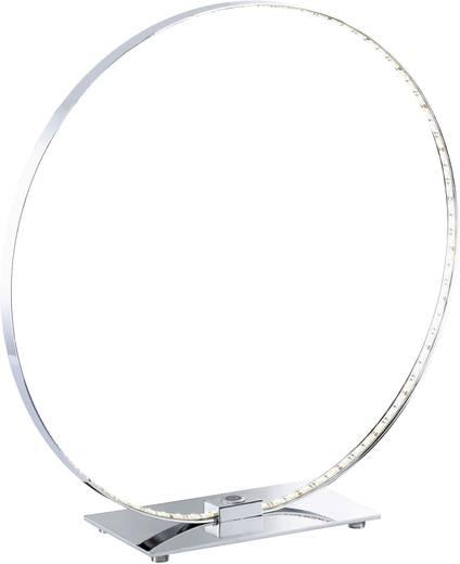 LED-Tischlampe 18 W Warm-Weiß WOFI Cosmo 8960.01.01.0500 Chrom