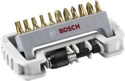 Sada bitů Bosch Accessories 2608522127, plochá, křížový PH, křížový PZ, TORX, 12dílná