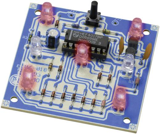 LED Würfel Bausatz Kemo B093 Ausführung (Bausatz/Baustein): Bausatz