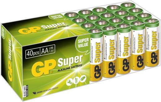 Mignon (AA)-Batterie Alkali-Mangan GP Batteries Super Alkaline 1.5 V 40 St.