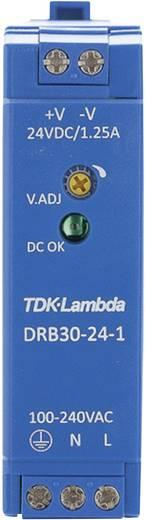 Hutschienen-Netzteil (DIN-Rail) TDK-Lambda DRB-30-24-1 24 V/DC 1.25 A 30 W 1 x