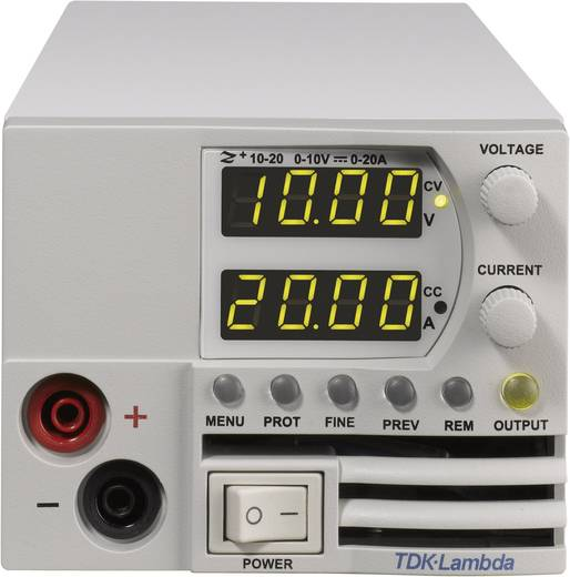 Labornetzgerät, einstellbar TDK-Lambda Z-36-6/L2 0 - 36 V/DC 0 - 6 A 216 W Anzahl Ausgänge 1 x