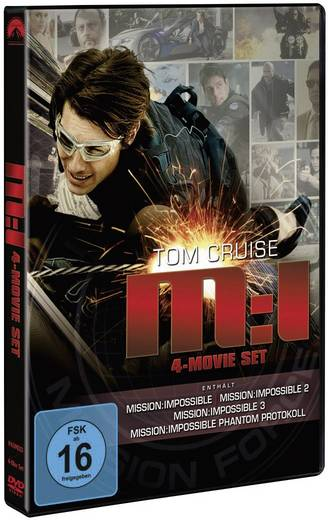 DVD Mission: Impossible - 4-Movie Set 1-4 FSK: 16
