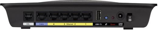 Linksys X3500 WLAN Router mit Modem Integriertes Modem: ADSL, ADSL2+ 2.4 GHz, 5 GHz 750 MBit/s