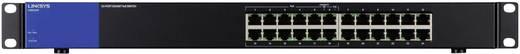 Netzwerk Switch RJ45 Linksys LGS124P 24 Port 1 Gbit/s PoE-Funktion