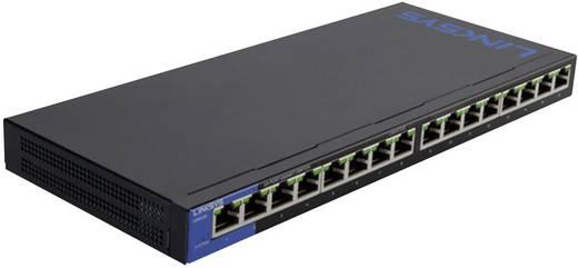 Netzwerk Switch RJ45 Linksys LGS116P 16 Port 1 Gbit/s PoE-Funktion