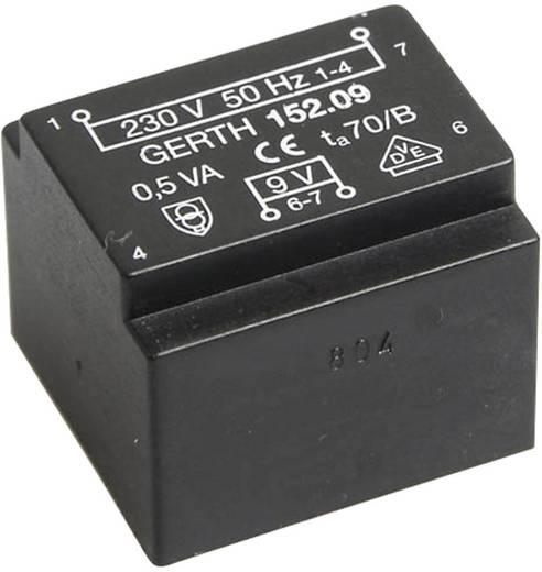 Printtransformator 1 x 230 V 2 x 15 V/AC 0.50 VA 16 mA PT203002 Gerth