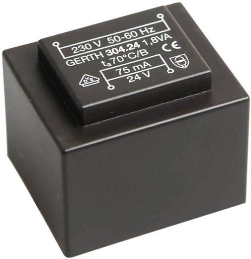 Printtransformator 1 x 230 V 2 x 3 V/AC 1.80 VA 300 mA PT300602 Gerth