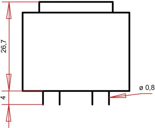 Printtransformator 1 x 230 V 1 x 9 V/AC 1.80 VA 200 mA PT300901 Gerth