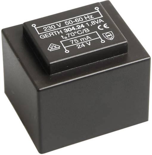 Printtransformator 1 x 230 V 2 x 6 V/AC 1.80 VA 150 mA PT301202 Gerth