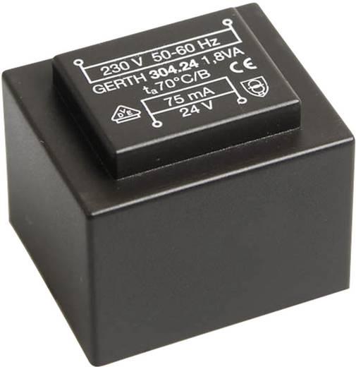 Printtransformator 1 x 230 V 1 x 21 V/AC 1.80 VA 85 mA PT302101 Gerth