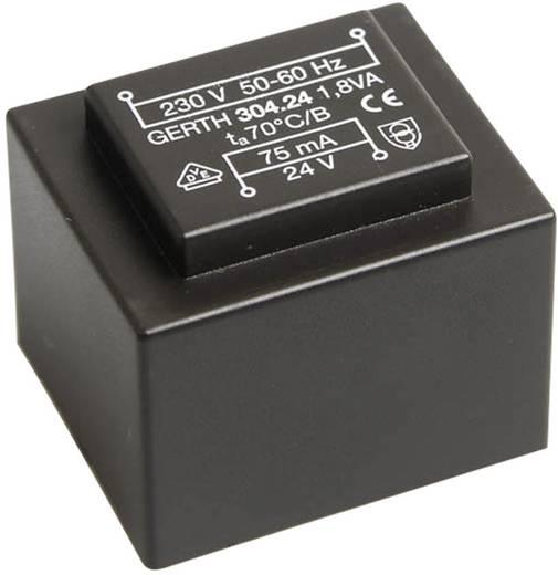 Printtransformator 1 x 230 V 1 x 24 V/AC 1.80 VA 75 mA PT302401 Gerth