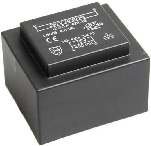 Printtransformator 1 x 230 V 1 x 9 V/AC 4.80 VA 266 mA PT421802 Gerth