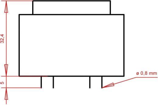 Printtransformator 1 x 230 V 2 x 12 V/AC 5.60 VA 233 mA PTB422402 Gerth