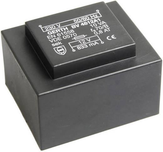 Printtransformator 1 x 230 V 1 x 24 V/AC 10 VA 416 mA PT482401 Gerth