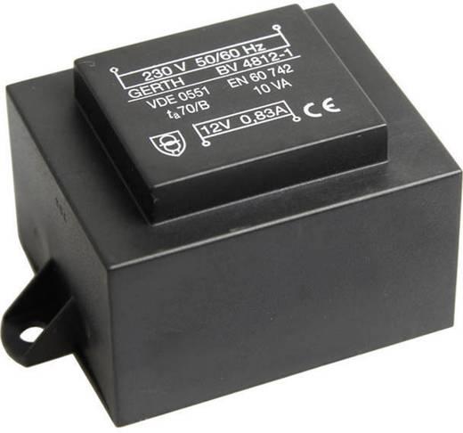 Printtransformator 1 x 230 V 1 x 18 V/AC 10 VA 555 mA PT481801F Gerth