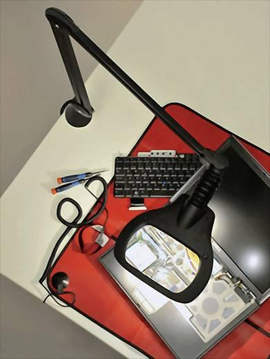 LED Lupenleuchte Wave ESD 2 x 6 W GlamoxLUXO WAL025964 Vergrößerungsfaktor: 3,5 Dioptrien Lupen-Durchmesser: 16 x 10 cm