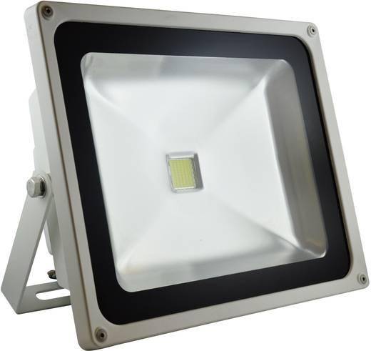 DioDor DIO-FL50N-W LED-Außenstrahler 50 W Warm-Weiß Weiß