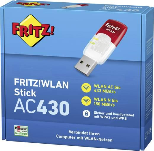 WLAN Stick USB 2.0 600 MBit/s AVM FRITZ!WLAN Stick AC 430