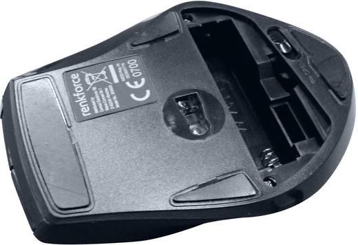 Funk-Maus Optisch Renkforce BX6600 Schwarz
