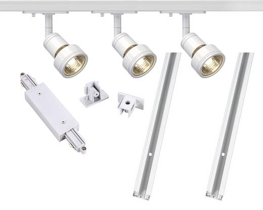 Schienen-Komplett-System GU10 12.9 W LED SLV 143191 Weiß