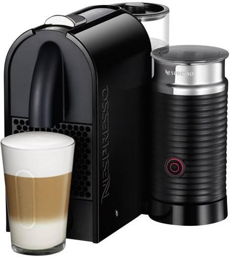 DeLonghi Umilk EN 210.BAE Nespresso Kapselmaschine Schwarz mit Aeroccino