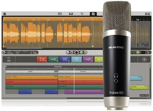 USB-Studiomikrofon M-Audio Vocal Studio Ignite Kabelgebunden inkl. Koffer, Standfuß