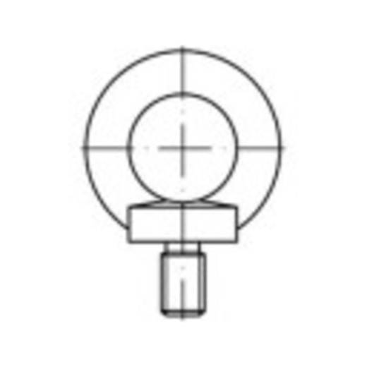 Ringschrauben M52 DIN 580 Stahl 1 St. TOOLCRAFT 109353