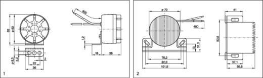Rückfahrwarner Fester Schallpegel Bosch 0 986 334 001