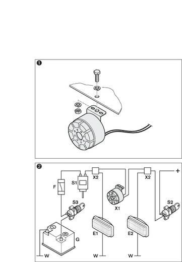 Rückfahrwarner Selbstjustierender Schallpegel Bosch 0 986 334 002