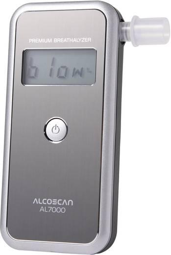 Alkoholtester ACE AL7000 Silber Messbereich Alkohol (max.)=4 ‰ auswechselbarer Sensor, inkl. Display