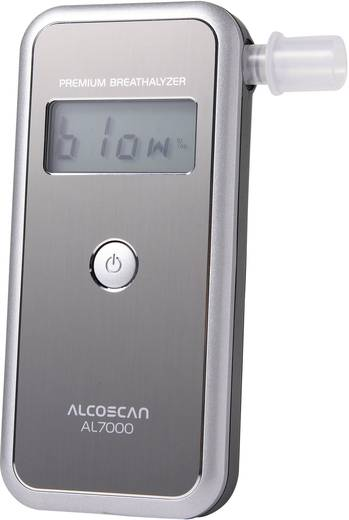 Alkoholtester ACE lz1WW-OeOwQ Silber Messbereich Alkohol (max.)=4 ‰ auswechselbarer Sensor, inkl. Display
