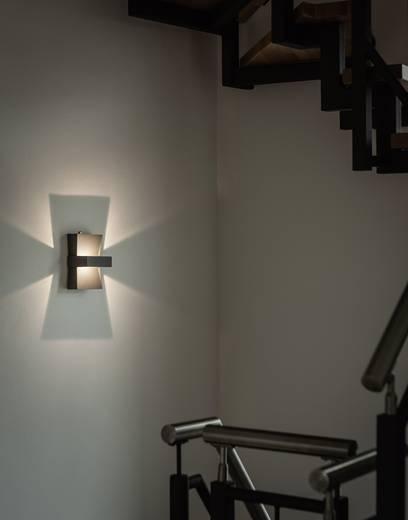 LED-Außenwandleuchte 6 W Warm-Weiß Renkforce Elda 2661LED Anthrazit