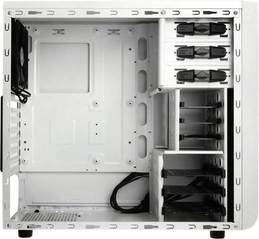 Midi-Tower PC-Gehäuse Bitfenix Comrade Weiß 1 vorinstallierter Lüfter