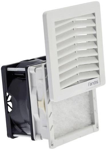 Schaltschrank-Lüfter FF08GA230UF Fandis 230 V/AC 12 W (B x H x T) 106.5 x 106.5 x 72.8 mm