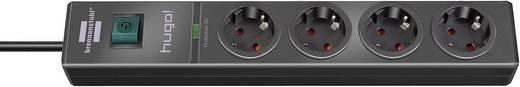 Überspannungsschutz-Steckdosenleiste 4fach Schwarz Schutzkontakt Brennenstuhl 1150610314