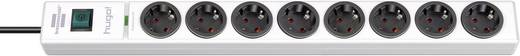 Überspannungsschutz-Steckdosenleiste 8fach Weiß Schutzkontakt Brennenstuhl 1150610328