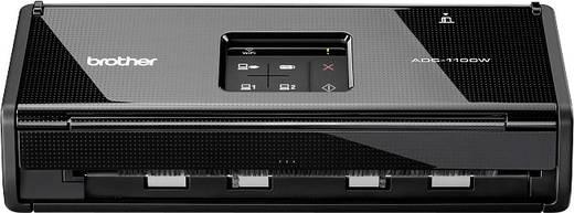 Mobiler Duplex-Dokumentenscanner A4 Brother ADS-1100W 16 Seiten/min, 32 Bilder/min USB, USB Host, WLAN 802.11 b/g/n