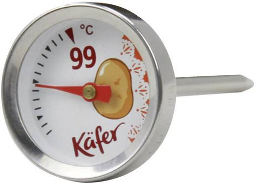 Grill-Thermometer Käfer 7-3006 Kartoffel, Grillgut