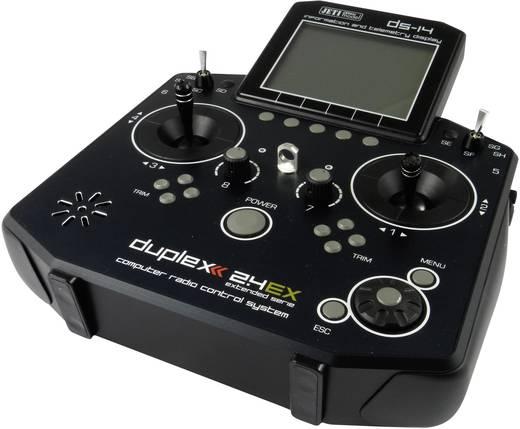 Jeti DUPLEX DS-14 Mode 2/4 Hand-Fernsteuerung 2,4 GHz Anzahl Kanäle: 8