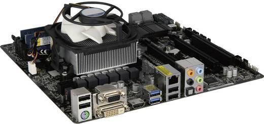 PC Tuning-Kit (Media) AMD A6-6400K (2 x 3.9 GHz) 8 GB AMD Radeon HD8470D Micro-ATX