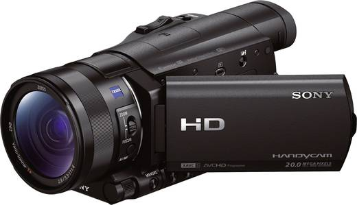 Camcorder Sony HDR-CX900E 8.9 cm 3.5 Zoll 20.9 Mio. Pixel Opt. Zoom: 12 x Schwarz