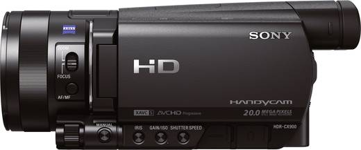 Sony HDR-CX900E Camcorder 8.9 cm 3.5 Zoll 20.9 Mio. Pixel Opt. Zoom: 12 x Schwarz
