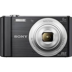 Digitální fotoaparát Sony Cyber-Shot DSC-W810B, 20.1 MPix, Zoom (optický): 6 x, černá